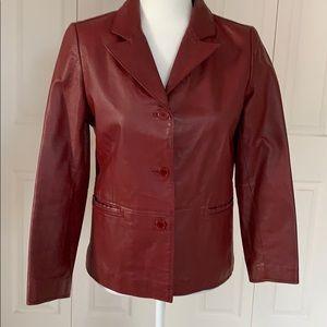 Clio  Blazer Jacket , leather